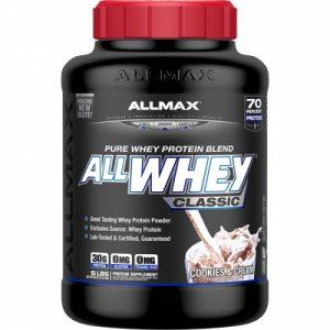 Allwhey ClassicAllmax/ 2290гр протеинът съставен по последни иновационни технологии при извличането на Whey Protein за създаването на 3-степенна NitriCore™