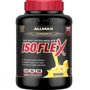 Суроватъчният протеин IsoflexAllmax 5lbs (2290гр) е произведен под високо-технологично доказани процеси, които запазват фракцийте на протеина ненарушени