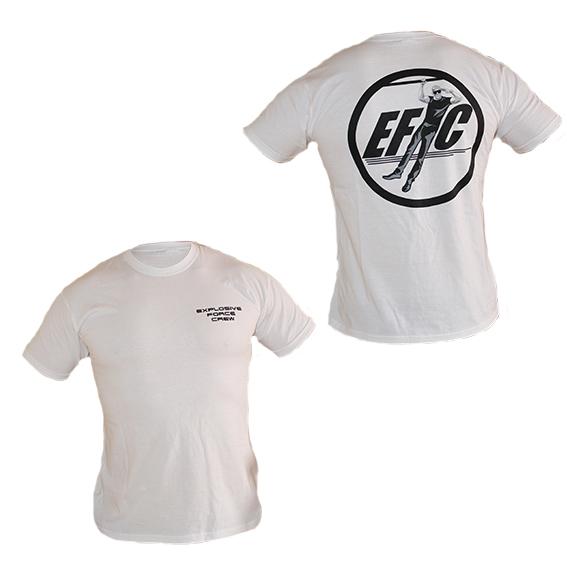 STREETFIT.BG - тениска с лого EFC (Elite Force Crew). Перфектна както за ежедневно облекло, така и за всички които искат да бъдат уникални на лостовете.
