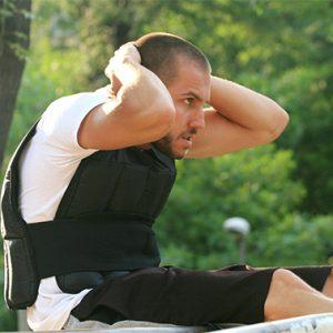 Жилетка с тежести 15кг / SZ - целта на използването на този аксесоар е да направите своите тренировки по-интензивни си като добавите тежест към тялото си.