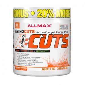 A-Cuts Allmax / 36дози продуктът с освежаващ вкус и перфектно подбран състав в който преобладават термогенни свойства обогатен от голям набор аминокиселини.