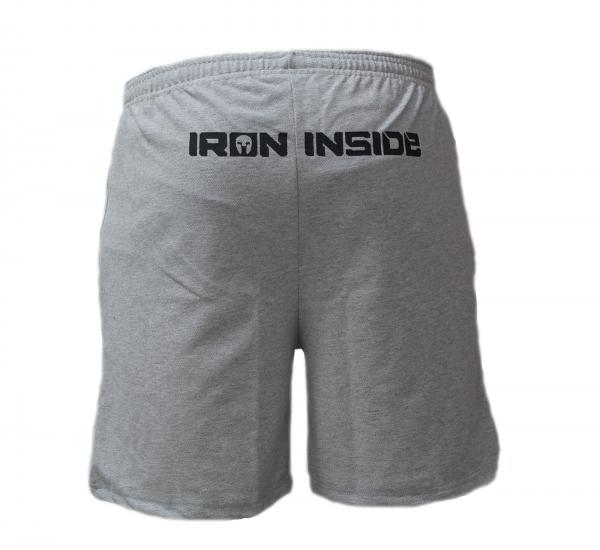 Къси гащета Train Hard с лого на десния крачол IRONINSIDE са най-добрия избор на облекло, подходящо както за вашите тренировки, така и за ежедневно носене.