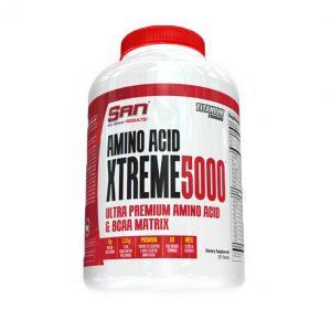 Amino Xtreme 5000 / 320тб на фирмата SAN е формула, съдържаща възможно най-добрата комбинация от аминокиселини. Висококачествени аминокиселини на SAN