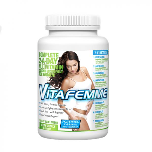 Vitafemme Витамини за жени / 30 дози - специално разработена формула за жени. Най-доброто предложение за силен имунитет, енергия и тонус през деня.