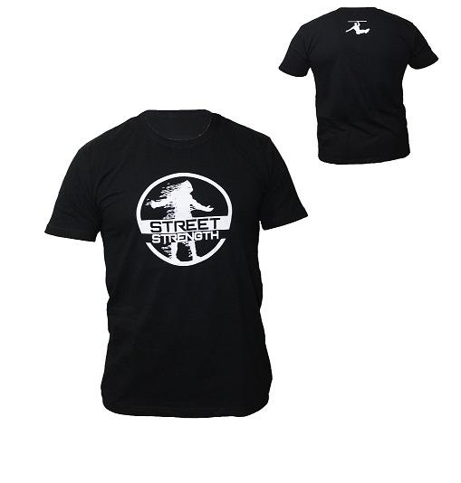Streetfit.bg Ви представя тениска Street Strenght. Изработена от 100% памук, с уникална щампа на гърдите и в задната част на врата. STREET WORKOUT MY LIFE