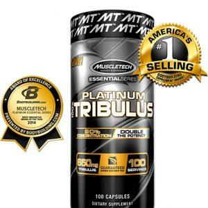 Muscle Tech - 100% Platinum Tribulus 650mg Ви предлага повече ендогенен тестостерон, повече сила, по-добро възстановяване, по-чисти мускули