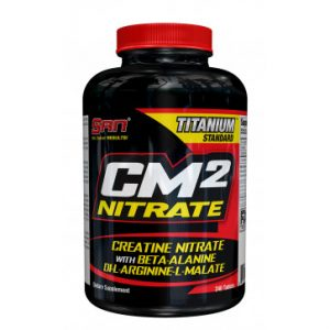 CM2 Nitrate Supreme SAN - титолован продукт с иновативна комбинация. Съставките в този мощен артикул са: Ди-L-аргинин-L-малат; b-аланин и креатин нитрат.