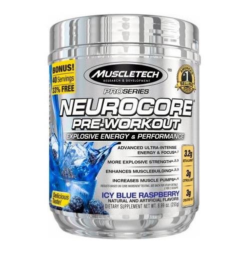 Neurocore Pro Series Muscle Tech / 50 дози - нова формула високо концентриран предтренировъчен продукт, гарантиращ превъзходна форма по време на тренировка!