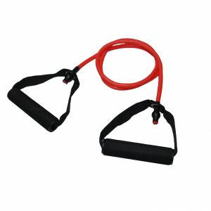 Тренировъчен ластик с дръжки - много приложения в стрийт фитнес тренировките. Подобрете своята мобилност и поддържай форма във вкъщи
