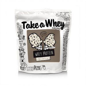Take a Whey every day / 907gr - новата му формула, която беше скоро разработена го превръща в един от най-вкусните протеини. Качество на достъпна цена