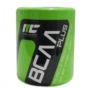 BCAA Plus MuscleCare / 400gr - необходимото Ви съдържание на Леуцин в доза, както и допълнително добавен Глутамин за още по-добро възстановяване.