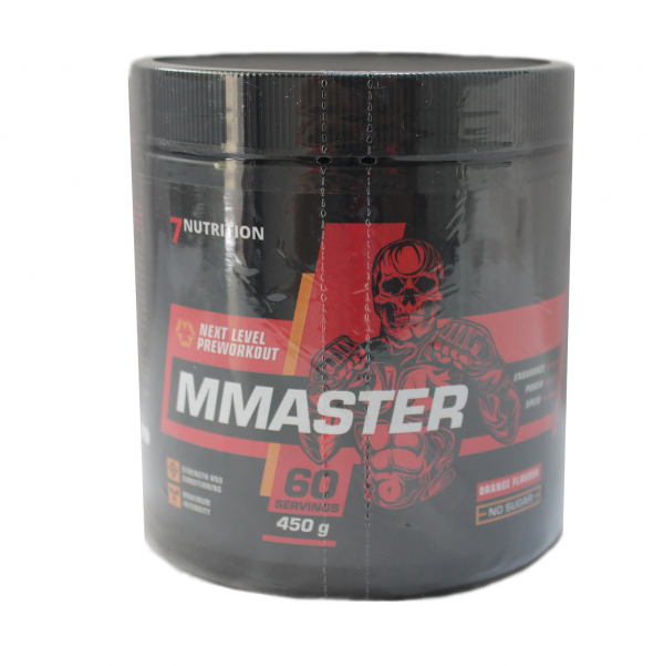 MMASTER Pre-Workout / 60 дози - ново поколение предтренировъчни продукти, създадено специално за динамичните спортове, като ММА, Бокс, Кикбокс, Муай Тай
