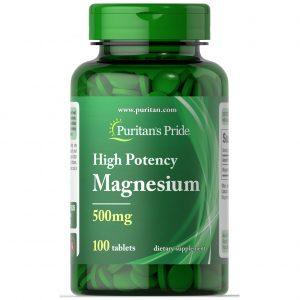 Magnesium Oxide 250-500mg / 100 табл – намалява стреса, мускулните схващания и крампи и подобрява съня, има за цел да подпомага растежа.