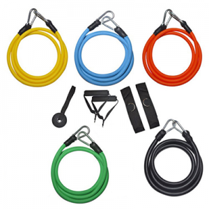 Комплект ластици за тренирвки /10 части - новият комплект от 10 части Ви позволява да направите неверотятна тренировка в домашни условия.