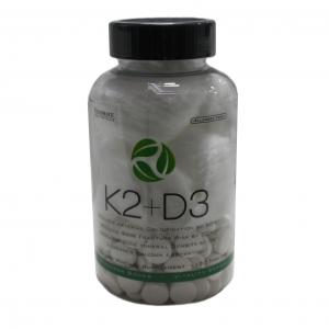 К2 + D3 Ultimate Nutrition / 120 таб значително увеличение на минералната плътност на костите, сърдечносъдови заболявания, диабет