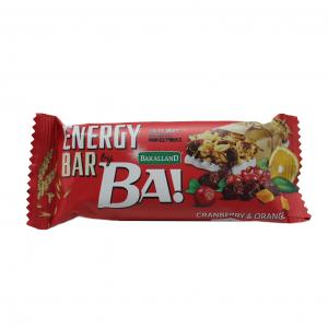 Energy bar BA! Bakalland / 40гр - енергийни барове е линия зърнени барове с ядки, семена и сушени плодове. Идеална, здравословна закуска!