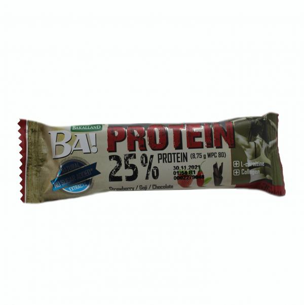 Ba! Protein bar No Shugar / 35гр - BA! протеинови барове съдържат висококачествени сурватъчни протеини (WPC 80)