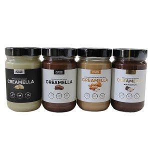 Протеинов крем Creamella / 300гр - фирмата Active Choice стъпи здраво на пазара, като създаде здравословен течен шоколад. Живей здравословно