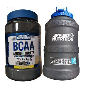 BCAA Amino-Hydrate / 1400гр– аминокиселини с разклонена верига, с класическо подбрано съдържание наЛевцин, Изолевцин и Валин плюс ПОДАРЪК