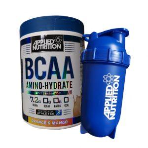 BCAA Amino-Hydrate / 450гр – аминокиселини с разклонена верига, с класическо подбрано съдържание на Левцин, Изолевцин и Валин