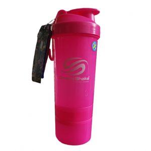 SmartShake шейкър / Розов 750мл - уникалният шейкър с който можете да изпиете протеина си навсякъде, без вариант да пропусне течността.